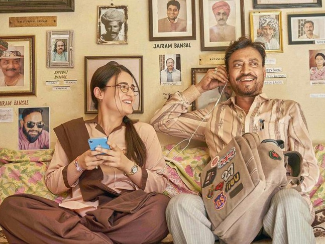Angrezi Medium Review: Irresistible Irrfan makes you fall in love ...