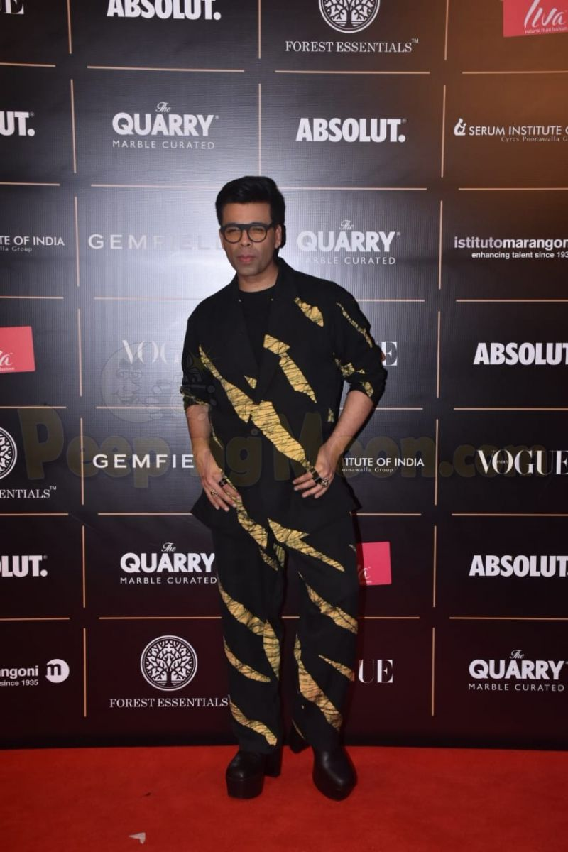 Image result for karan johar at womens vogue 2019