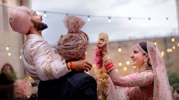 Bhangra Dancers Had Been Amping Up Energy At The Venue While Happy Sounds Of Dhol Brought A Typical Punjabi Wedding To Italian