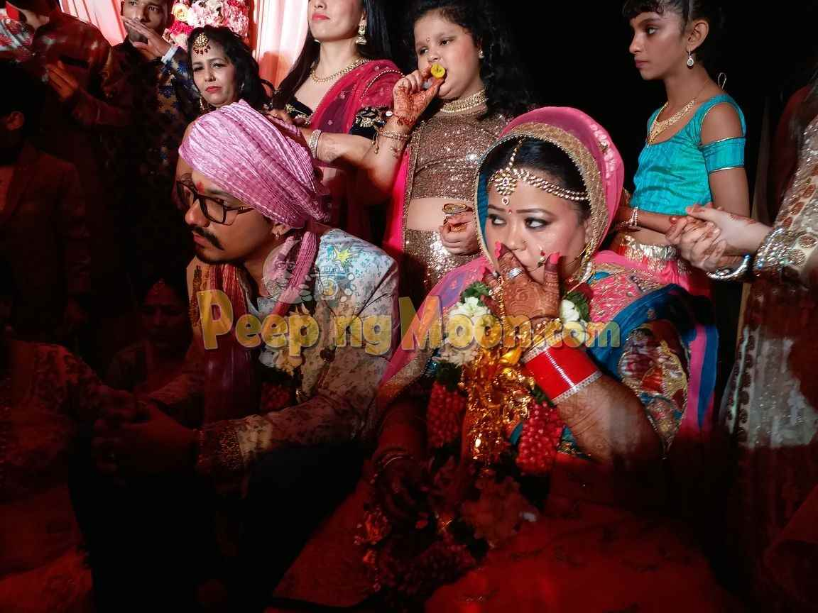 Bharsh shippers can rest in peace. Bharti and Haarsh finally tie the ...