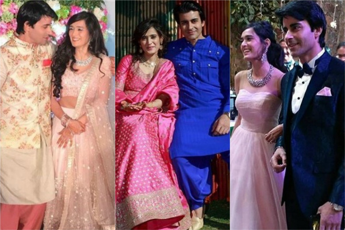 While Last Year Saw Many Star Weddings 2018 Started With Another Unison Of Yet Lovely Gautam Rode Pankhuri Awasthy