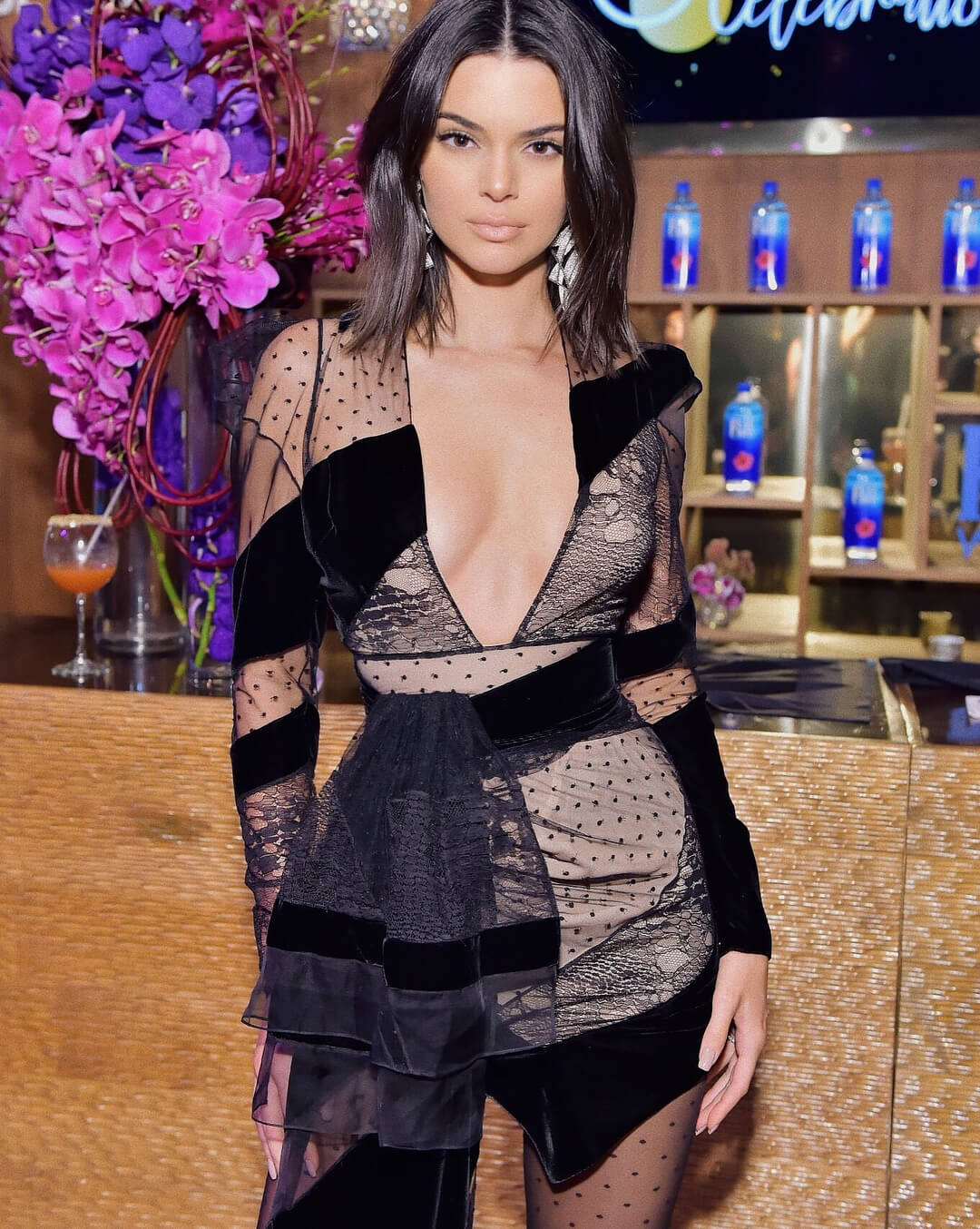 Where is Kendall Jenner, if not at Fashion Week?