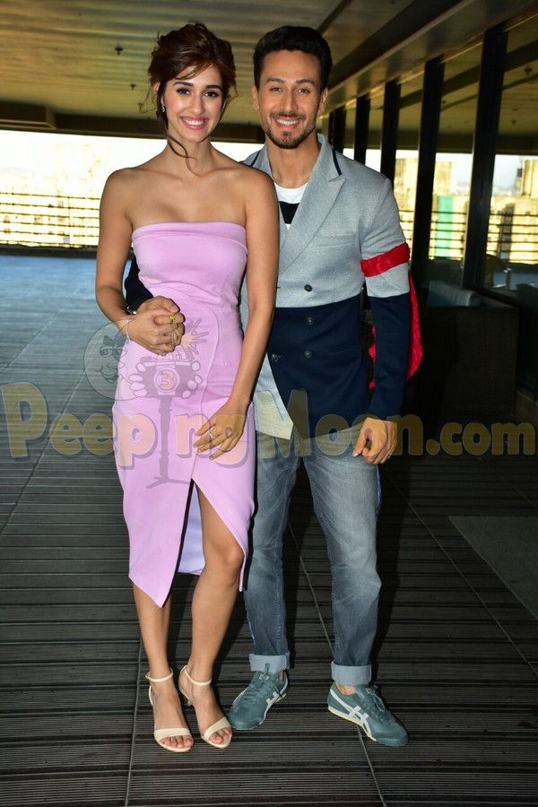 Tiger And Disha Glam Up All The Baaghi 2 Promotions