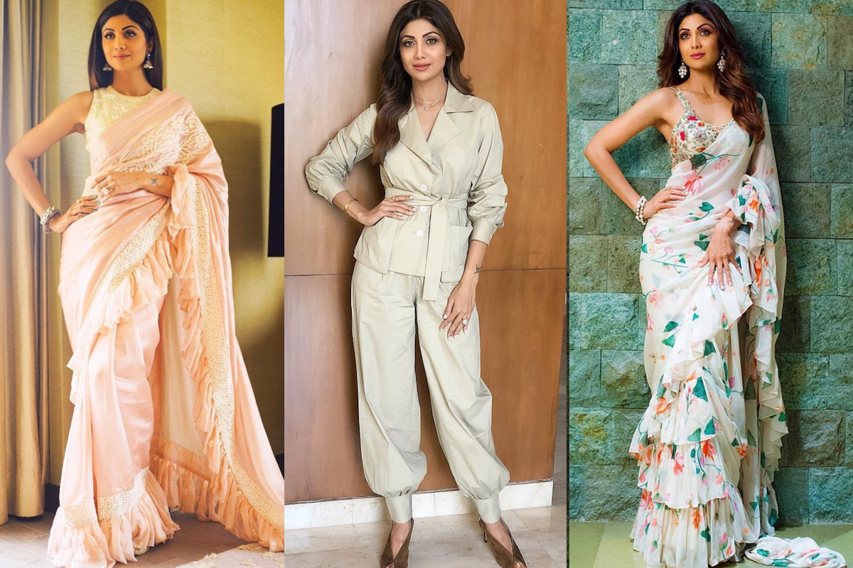 Saree to Power Suit: Shilpa Shetty teaches you how to dress like a boss