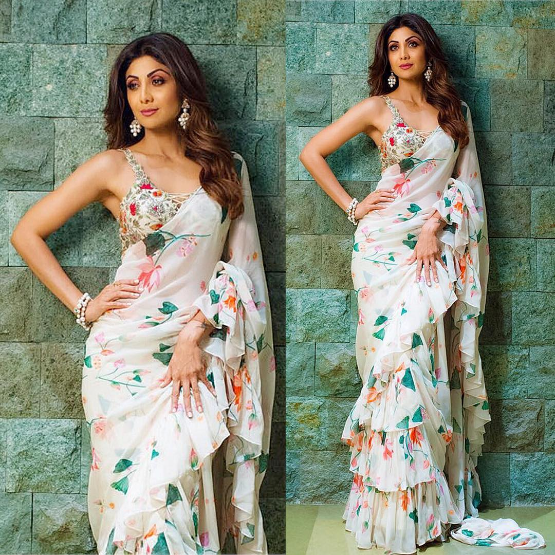 Saree To Power Suit Shilpa Shetty Teaches You How To