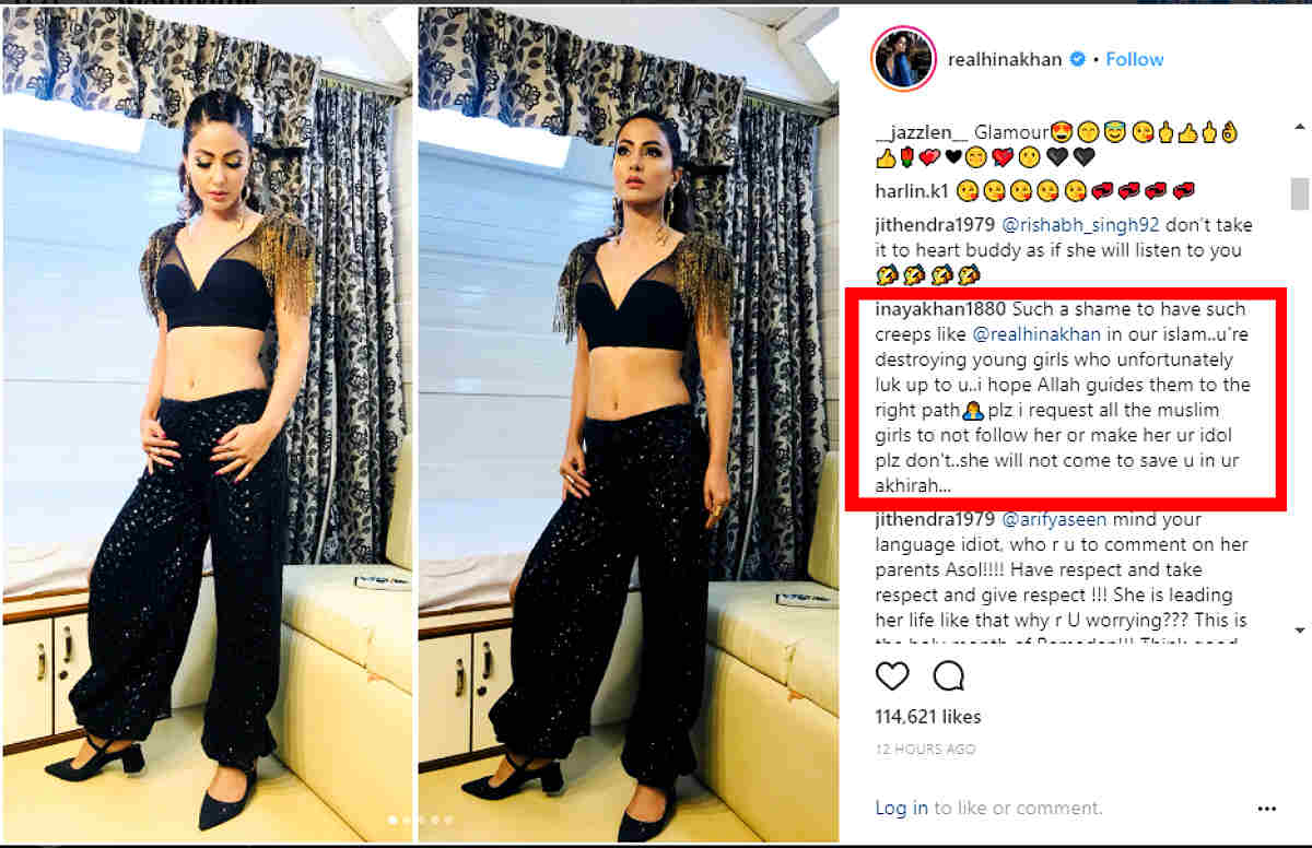 Respect Ramadan Hina Khan Gets Trolled For Her Let S Dance Post