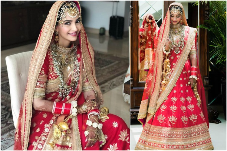 Sonam Kapoor In Anuradha Vakil For Her Wedding With Anand