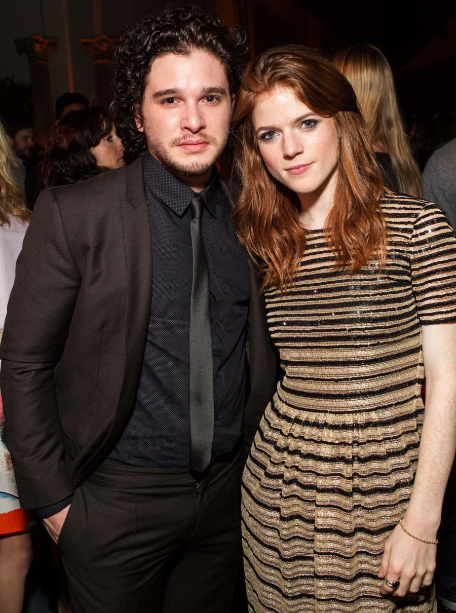 Kit Harington Rose Leslie Wedding Date Announced Peepingmoon