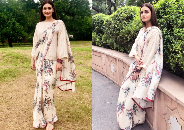 Dia Mirza reignites our love for sarees with two upcoming brands ...