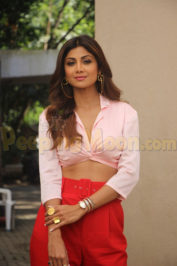 I've always liked to be ahead of time : Shilpa Shetty