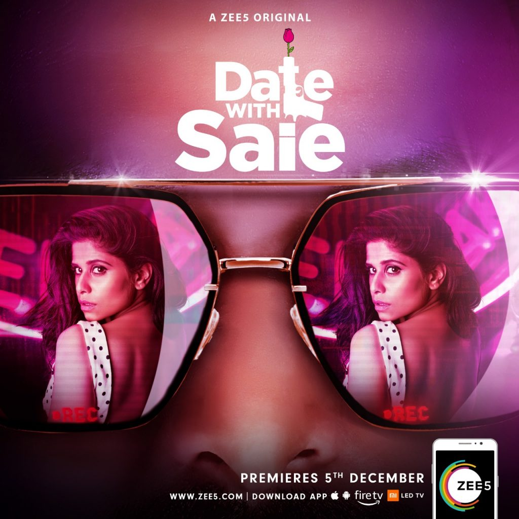 Zee5 sets 'Date With Saie' for December 5, first poster out