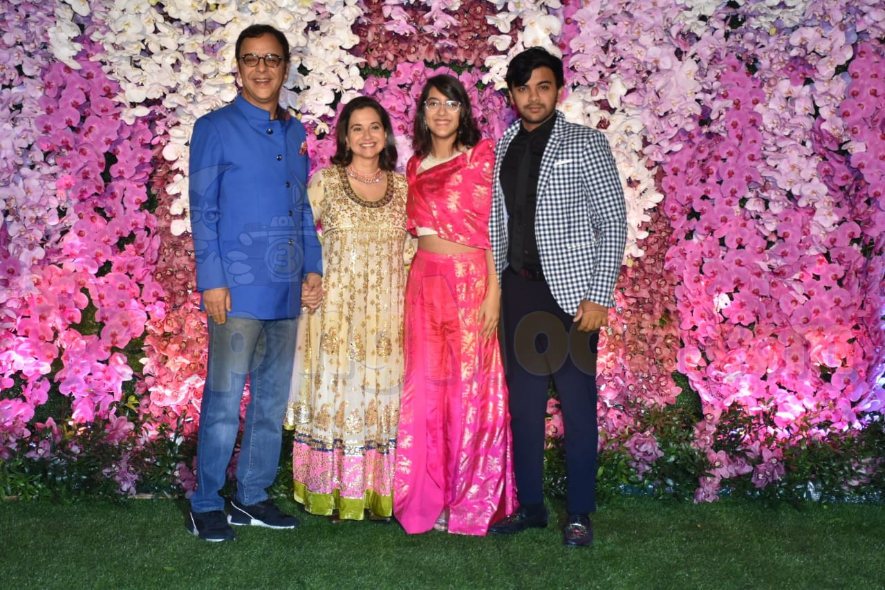 Akash Ambani-Shloka Mehta reception: Juhi Chawla and Vidhu