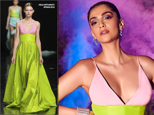 fe916caa15044 This time is no different, as she makes a popping appearance at the HHOF  Awards. File photo of Sonam Kapoor from Hello Hall of Fame ...